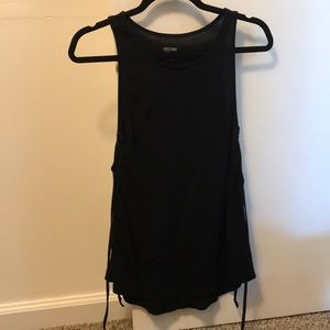 Mossimo size small. Tank top. Side ties